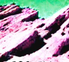 roswell tv show Green sky Velandra & Kivar Sticker