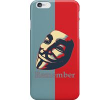 The Fifth of November iPhone Case/Skin