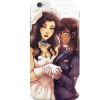 korrasami wedding iPhone Case/Skin