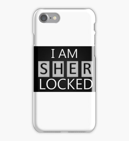 'I Am Sherlocked' iPhone Case/Skin