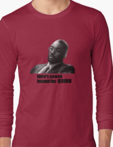 Stringer Bell - games beyond the Game Long Sleeve T-Shirt
