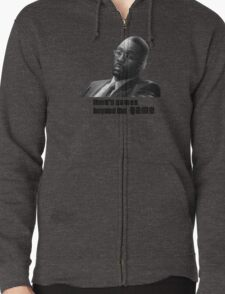 Stringer Bell - games beyond the Game Zipped Hoodie