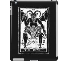 The Devil Tarot card by Shayne of the Dead iPad Case/Skin