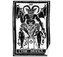 The Devil Tarot card by Shayne of the Dead Poster