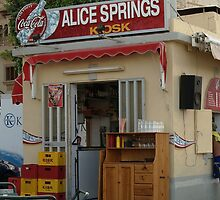 Alice Spring Kiosk. by Anthony Vella