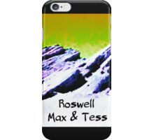 roswell tv show Yellow Sky Max & Tess iPhone Case/Skin