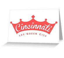 Queen City Greeting Card
