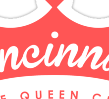 Queen City Sticker