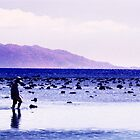 Blue and the Fisherman by John Violet