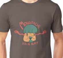 Moustache Hairboy Unisex T-Shirt