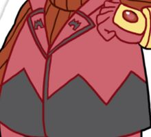 Team Magma Admin Tabitha Sticker