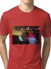Niagara Falls - Night Tri-blend T-Shirt