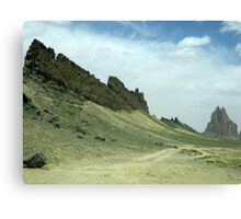 Shiprock, New Mexico Canvas Print