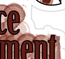 Puce Moment Sticker