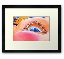 Here's Lookin At You Kid ! - Luna Park - The HDR Series Framed Print