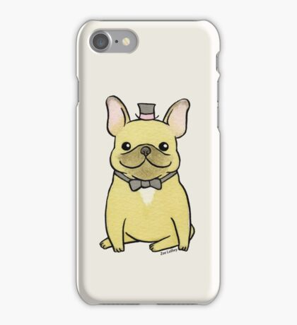 French Bulldog - The Little Gentleman iPhone Case/Skin