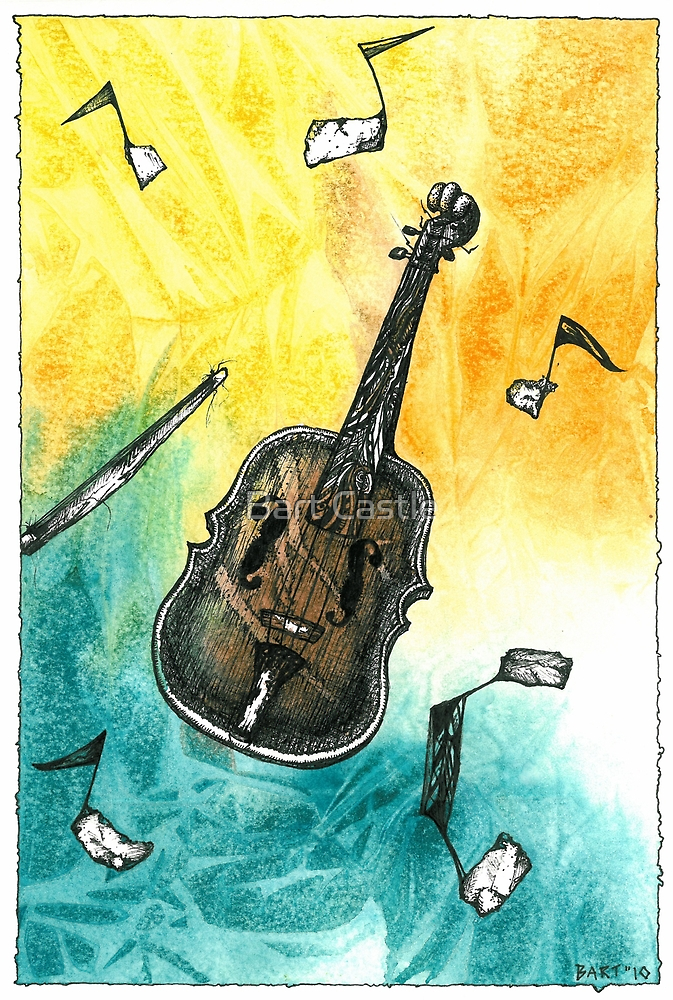 Fiddle Notes by Bart Castle