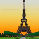 Eiffel Tower by pda1986