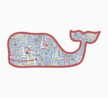 Lilly Pulitzer Whale Get Nauti by annaw9954