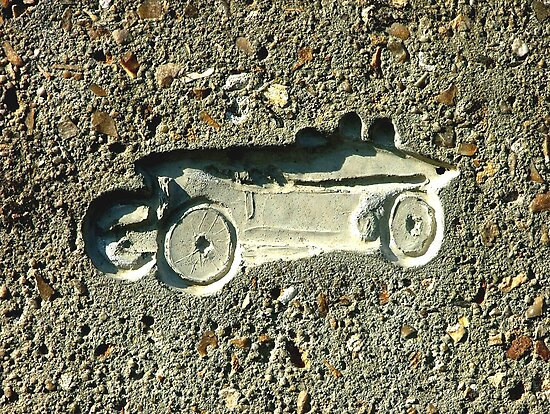 Car in Concrete by Colin J Williams Photography
