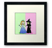 Elphaba & Glinda Framed Print