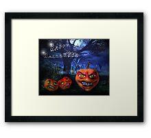 The Ole Pumpkin Patch Framed Print
