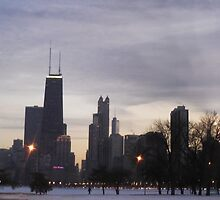 Chicago Skyline by molly753