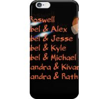roswell tv show Isabel and her many loves iPhone Case/Skin