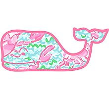 Lilly Pulitzer Whale Lobstah Roll Photographic Print