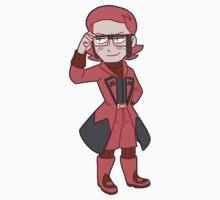 Team Magma Leader Maxie by DaFluff