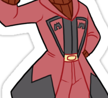 Team Magma Leader Maxie Sticker