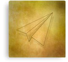 Paper Airplane 98 Canvas Print