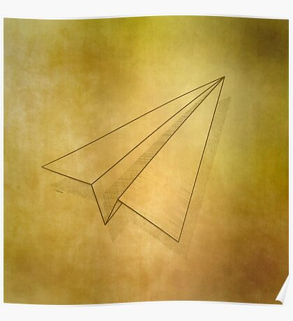 Paper Airplane 98 Poster