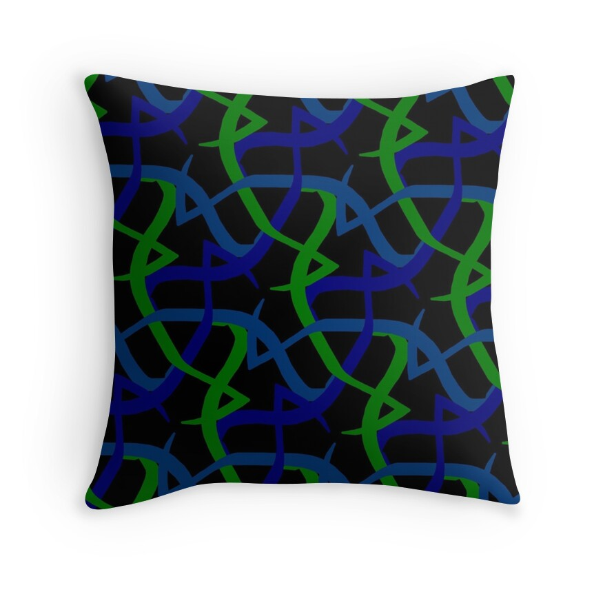 Throw Pillow Lime Green :