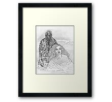 Dont Look Now... Framed Print