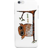 Don't Shoot Owl iPhone Case/Skin