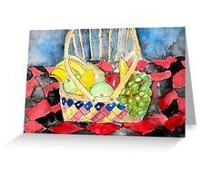 still life fruit Greeting Card
