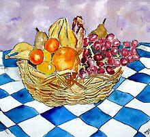 still life fruit 2 by derekmccrea