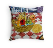 still life fruit 3 Throw Pillow