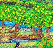 Little old lemon Orchard by catherine walker