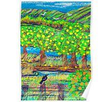 Little old lemon Orchard Poster