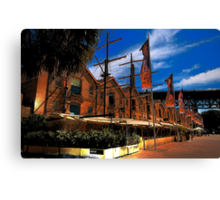 Convict Built - The Rocks , Sydney - The HDR Series Canvas Print