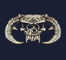 Horned Skull  by Walter Colvin