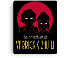 The Adventures of Varrick & Zhu Li Canvas Print