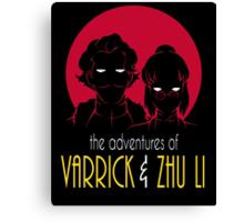 The Adventures of Varrick & Zhu Li Canvas Print