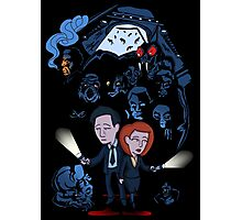 X-Files Mulder and Scully Photographic Print