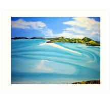 Whitsunday Islands Queensland Australia Art Print