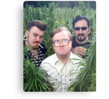 Ricky, Bubbles, and Julian Metal Print