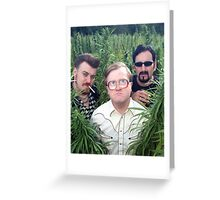 Ricky, Bubbles, and Julian Greeting Card