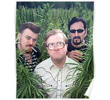 Ricky, Bubbles, and Julian Poster
